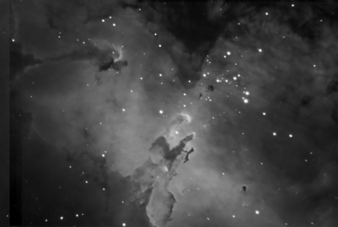 M16 Eagle Nebula H Alpha Flc Observatory