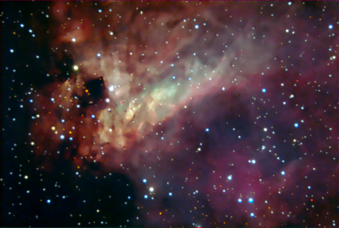 omega nebula nasa - photo #17