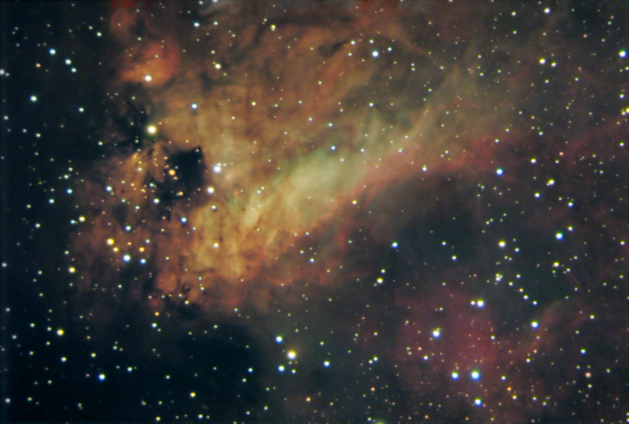 M17 Omega Nebula Flc Observatory