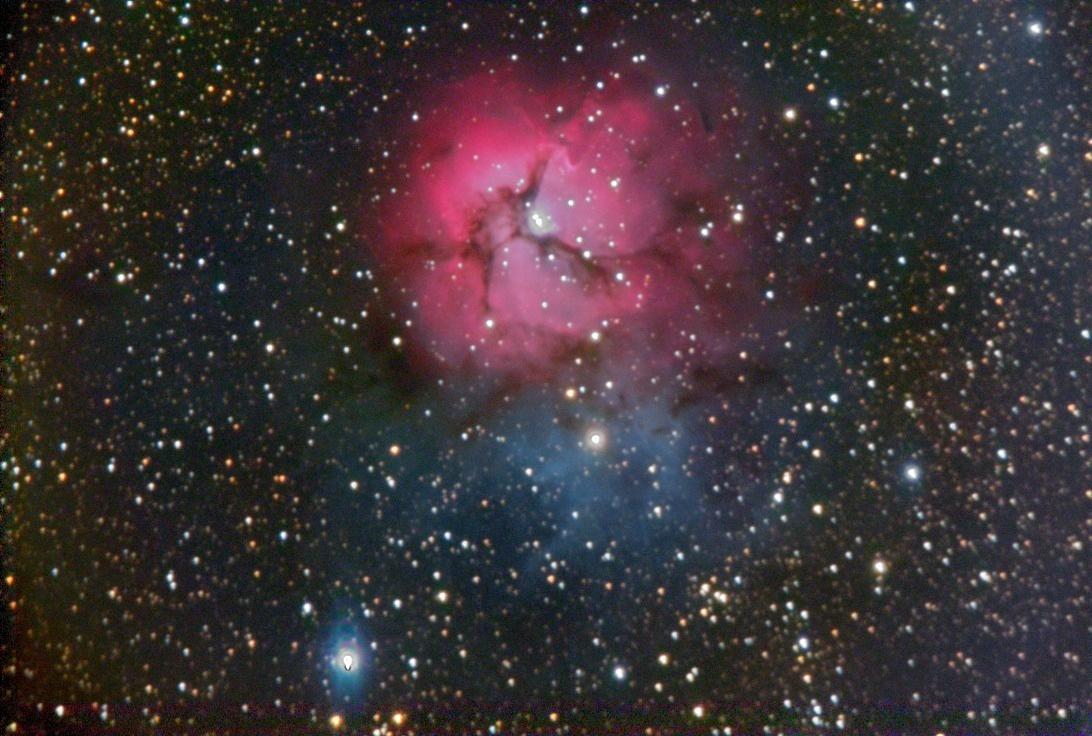 M20 - Trifid nebula - FLC Observatory