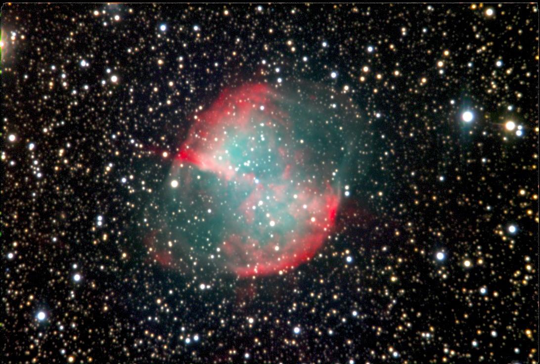 M27 Dumbbell Nebula - FLC Observatory